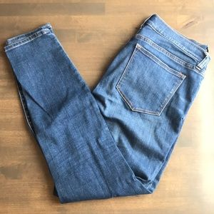 J. Crew Medium Wash Skinny Jeans
